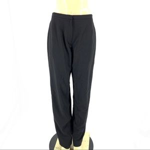 Emanuel ungaro Wool blend black dress pants